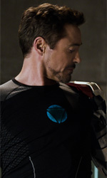 Il cinema in movimento - In foto Robert Downey Jr. in una scena del film Iron Man 3.