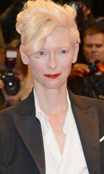 Berlinale 2014, il giorno di Whitaker e Keitel - Tilda Swinton sul red carpet.