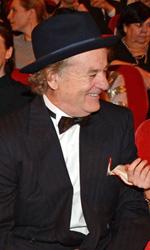 Berlinale 2014, il giorno di Whitaker e Keitel - Tilda Swinton, Bill Murray, Saoirse Ronan e Tony Revolori prima della proiezione del film.