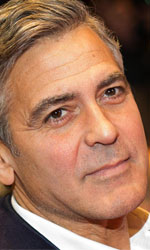 Berlinale 2014, oggi � di scena Lars von Trier - In foto George Clooney, regista e interprete di Monuments Men.
