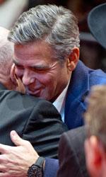 Berlinale 2014, oggi � di scena Lars von Trier - Harry Ettlinger e George Clooney.