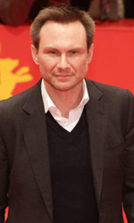 In foto Christian Slater (47 anni)
