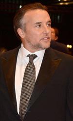 Berlinale 2014, si chiude la competizione ufficiale - Patricia Arquette, Ellar Coltrane, Lorelei Linklater e il regista Richard Linklater sul red carpet di Boyhood.