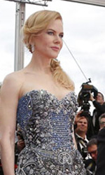 Cannes 67, apertura tra glamour e polemiche - Il cast di Grace di Monaco sulla croisette.