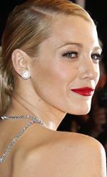 Cannes 67, il giorno del controverso Saint Laurent - L'attrice Blake Lively sul red carpet.