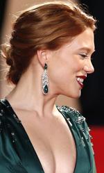 Cannes 67, l'attesa per Le meraviglie - Le attrici Léa Seydoux e Amira Casar scherzano sul red carpet.