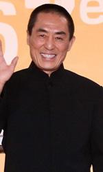 Cannes 67, il giorno dei premi Oscar - Zhang Huiwen, il regista Zhang Yimou, Gong Li e Chen Daoming sulla croisette per Coming Home, presentato fuori concorso a Cannes 67.