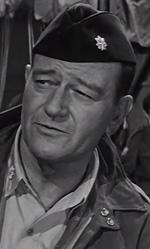 ONDA&FUORIONDA - In foto l'attore John Wayne in una scena de Il giorno più lungo.