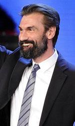 David di Donatello 2014, trionfano Virzì e Sorrentino - Fabrizio Gifuni riceve il David per il migliore attore non protagonista (Il capitale umano).