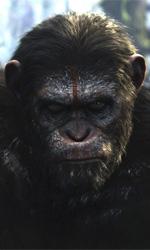 Di guerra e di pace - In foto una scena del film Apes Revolution - Il Pianeta delle Scimmie di Matt Reeves.
