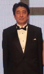 27th Tokyo Film Festival, al via tra applausi e sobriet� - Anche il Primo Ministro Shinzo Abe (al centro) alla serata inaugurale del 27� Tokyo International Film Festival (23 ottobre - 31 ottobre).