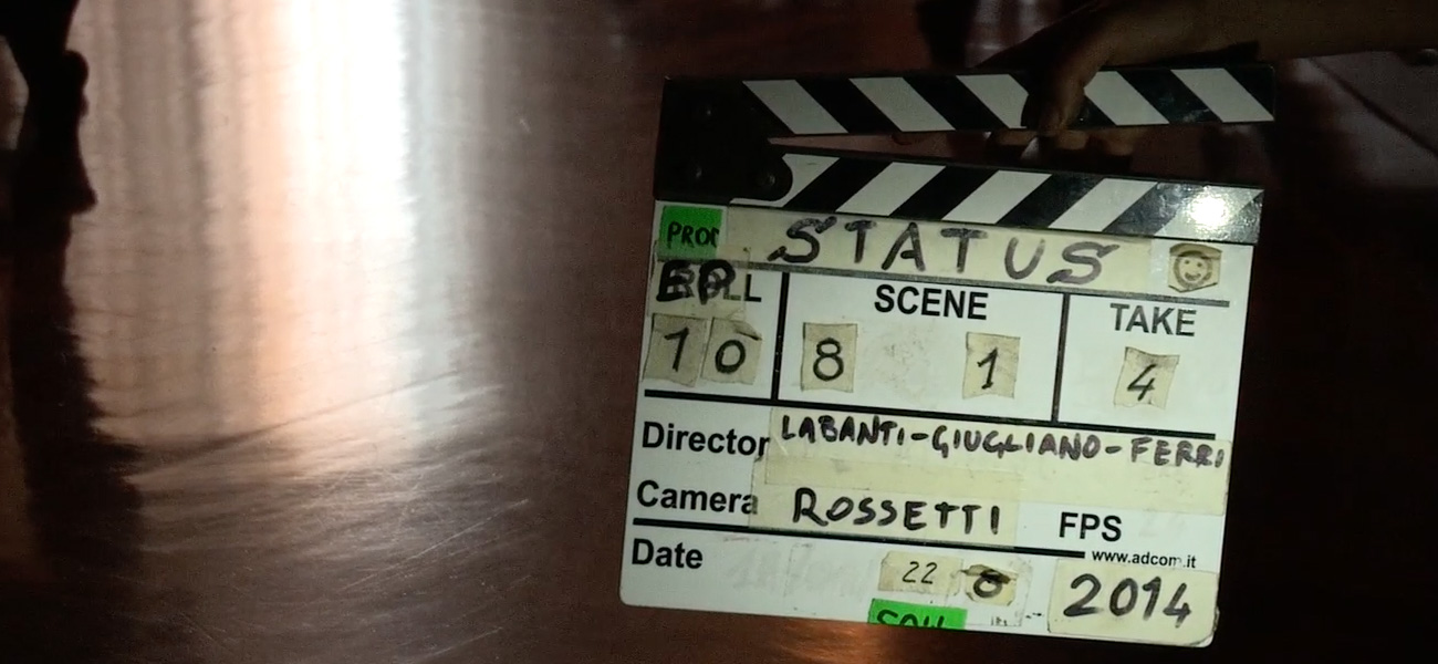Status, il backstage