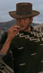 Tornano i western di Sergio Leone, l'inventore - Clint Eastwood in una scena del film Per un pugno di dollari di Sergio Leone.