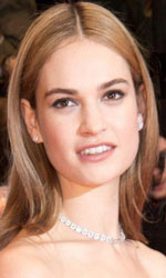 Berlinale 2015, Cenerentola sul red carpet - Lily James, all'anagrafe Lily Chloe Ninette Thomson, è nata il 5 aprile 1989 a Esher (Inghilterra).