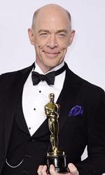 Oscar 2015, le foto dei vincitori - J.K. Simmons, Miglior Attore Non Protagonista per Whiplash.