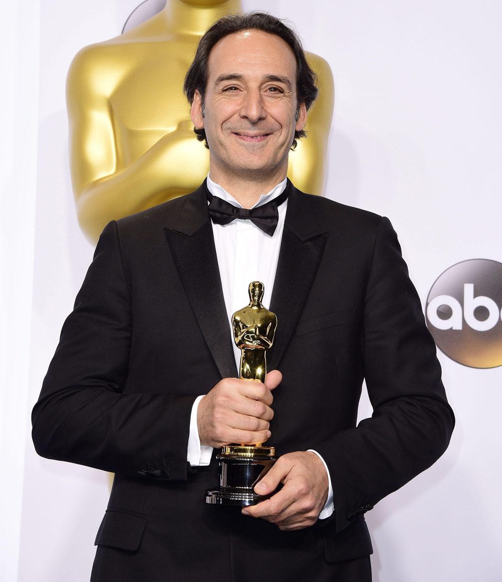 Alexandre Desplat, premio Oscar per la Miglior Colonna Sonora (per <em>Grand Budapest Hotel</em>)