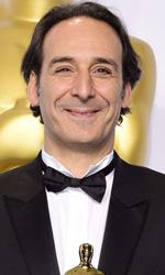 Oscar 2015, le foto dei vincitori - Alexandre Desplat, premio Oscar per la Miglior Colonna Sonora (per Grand Budapest Hotel)