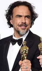 Oscar 2015, le foto dei vincitori - I vincitori dell'Oscar per il Miglior Film, Birdman.