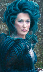 Into the Woods, quella strega di Meryl Streep - In foto una scena del film di Rob Marshall.