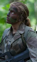 The Fighters, il lato morbido delle attrici in divisa - In foto la protagonista in una scena del film.