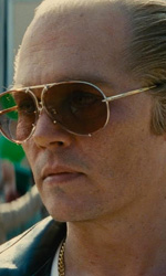 Black Mass con Johnny Depp alla 72. Mostra del Cinema di Venezia - In foto una scena del film.