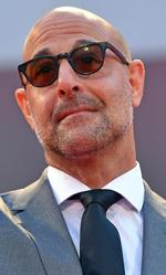 Venezia 72, Mark Ruffalo giornalista impegnato in Spotlight - In foto l'attore statunitense Stanley Tucci che, nel film Spotlight, veste i panni del giornalista Mitchell Garabedian.