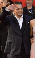 Venezia 72, tutti pazzi per Johnny Depp - Una foto di gruppo per il cast di Black Mass.