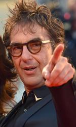 Venezia 72, il thriller di Egoyan conquista il Lido - In foto il regista di Remember (Concorso), Atom Egoyan, insieme alla moglie Arsinee Khanjian.