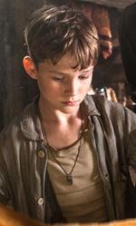 Alice nella citt�, Pan in anteprima italiana - In foto il giovanissimo attore Levi Miller in una scena del film.