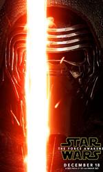 Star Wars: Il risveglio della forza, i character poster - Adam Driver (Kylo Ren).