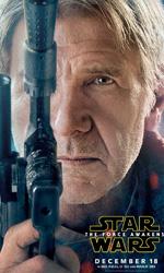 Star Wars: Il risveglio della forza, i character poster - Harrison Ford nei panni di Ian Solo.