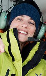 Eleonora Giovanardi, lo <em>Status</em> dell'attrice di talento - Eleonora Giovanardi in una scena del film Quo Vado?, dove interpreta la coraggiosa Valeria, ricercatrice di grandi ideali e di larghe vedute.
