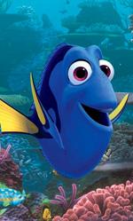 Box office: in Italia è già in modalità estiva - In foto una scena di Alla ricerca di Dory, primo in classifica tra i film Disney 2016.