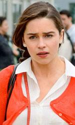 Box office, Io prima di te resiste all'assalto delle new entry - In foto Emilia Clarke in una scena del film Io prima di te.