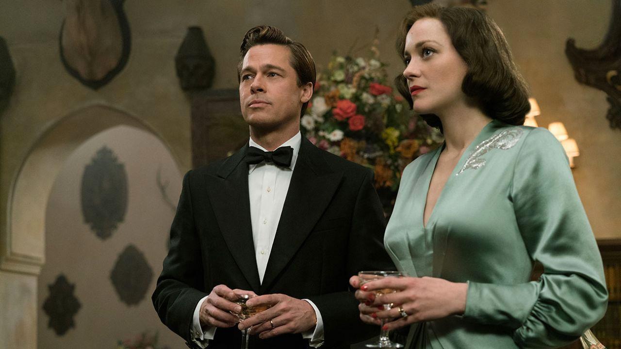 In foto Brad Pitt (55 anni) Dall'articolo: Allied - Un'ombra nascosta, unica new entry sul podio del box office.