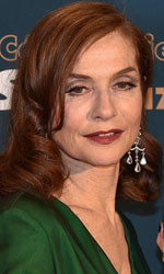 In foto Isabelle Huppert (62 anni)