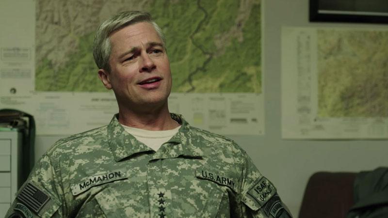 War Machine, il teaser trailer del film originale Netflix con Brad Pitt