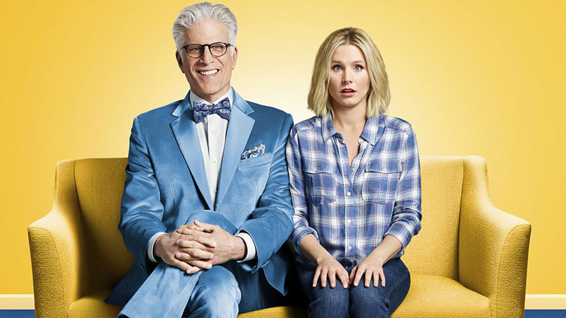 The Good Place, su Infinity i dilemmi interiori della defunta Eleanor