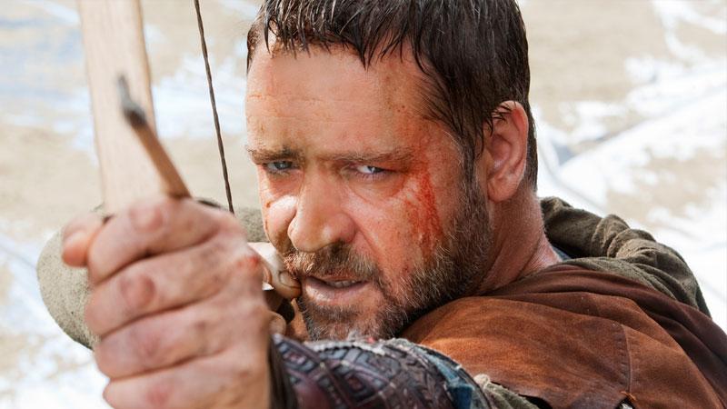 Robin Hood, su Infinity l'impeccabile arciere guerriero di Ridley Scott