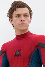 In foto Tom Holland (22 anni) Dall'articolo: Bandiera bianca per Spider-Man al Box Office.