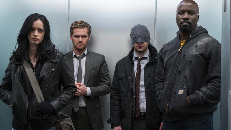 Daredevil, Jessica Jones, Luke Cage e Iron Fist uniti per salvare New York, The Defenders su Netflix