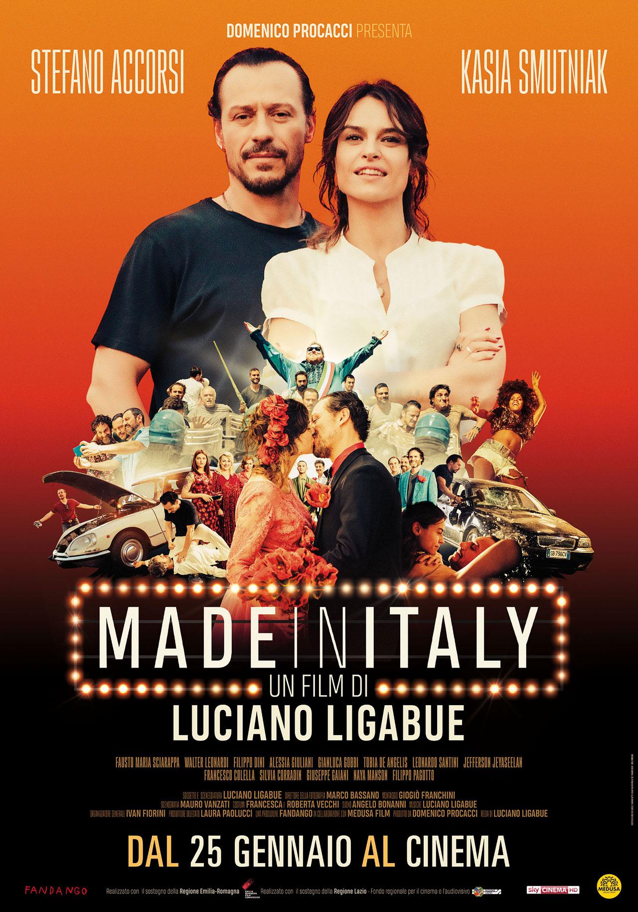 Made in italy il poster del film for Made com italia