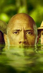 In foto Dwayne Johnson (47 anni) Dall'articolo: Jumanji � l'unico film sopra i 100mila euro.