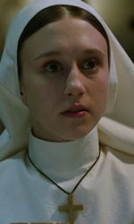 In foto Taissa Farmiga (25 anni) Dall'articolo: The Nun, l'horror da leggere dentro una visione cristiana.