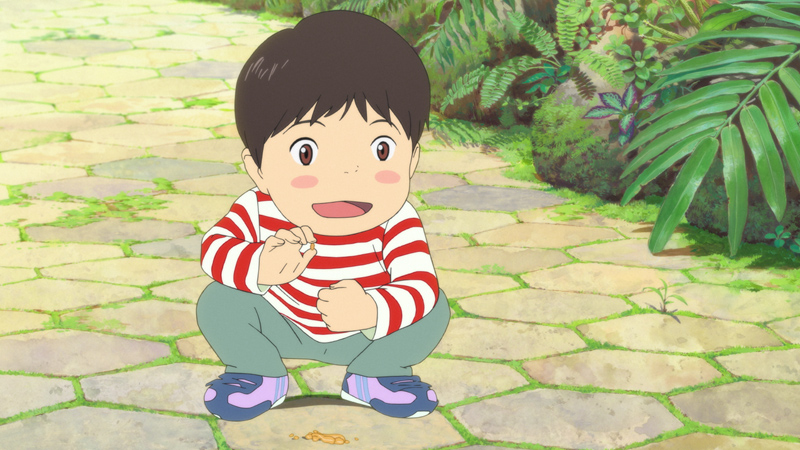 Mirai, guarda l'inizio del film di Mamoru Hosoda