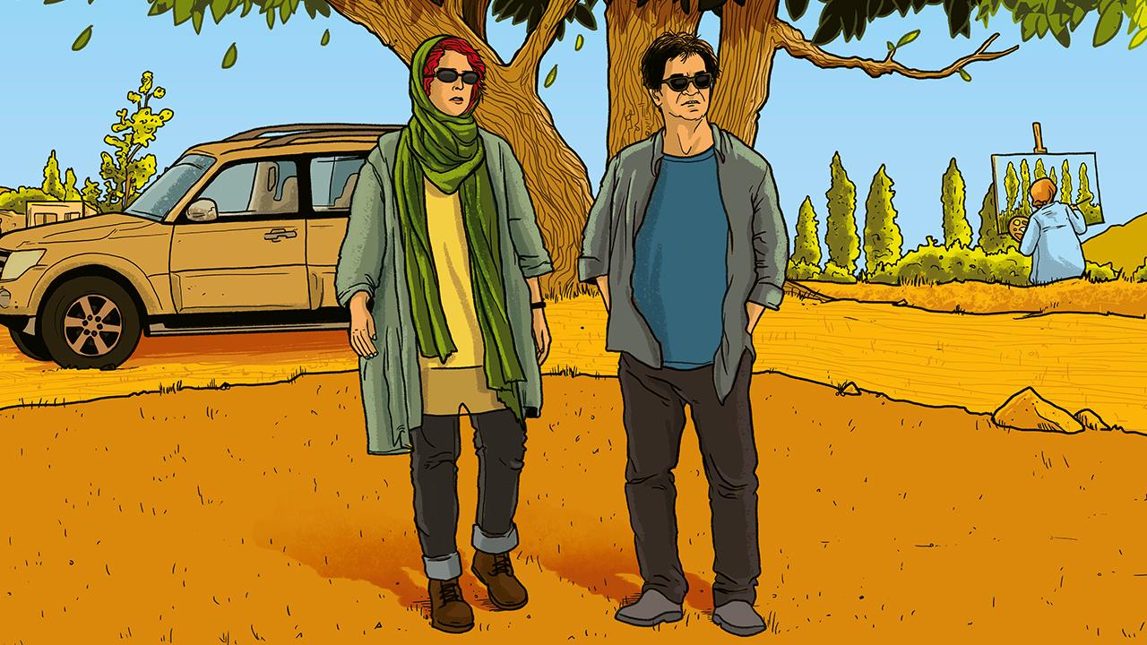 Tre volti, il poster italiano del film di Jafar Panahi