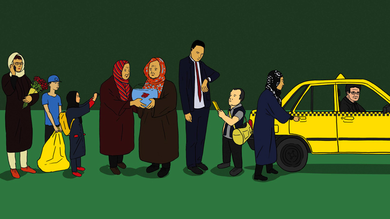 Taxi Teheran lunedì alle 21.30 in streaming su MYmovies.it