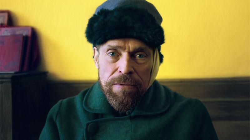 Van Gogh - Sulla soglia dell'eternità, il poster italiano del film