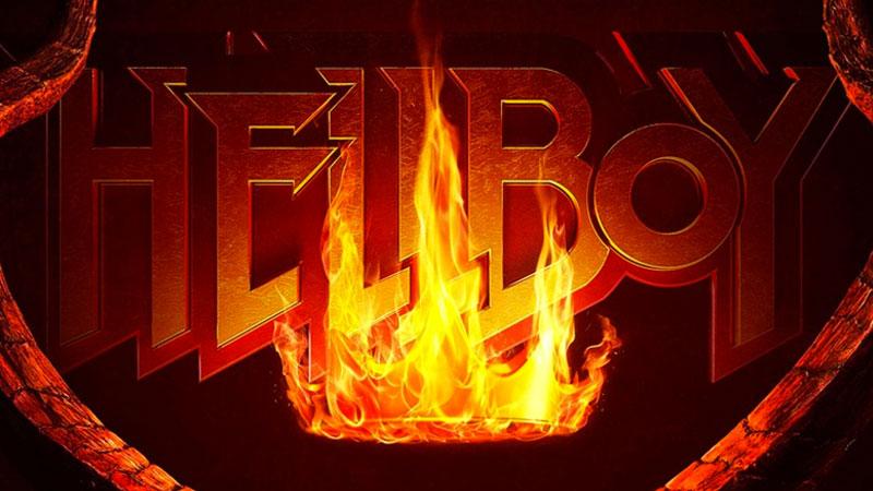 Hellboy, il poster originale del film