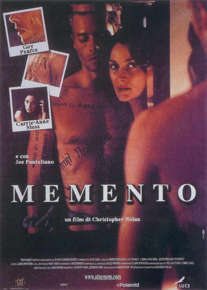 Locandina italiana Memento